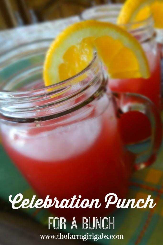 Celebration Punch - Pinterest