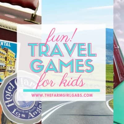 Planning on hitting the road this summer with the family? These Fun Travel Games for Kids are a perfect way to keep the kids occupied on those long family vacation road trips.