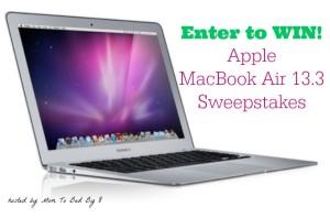 Apple MacBook Air Sweepstakes – ENTER HERE! #BTS