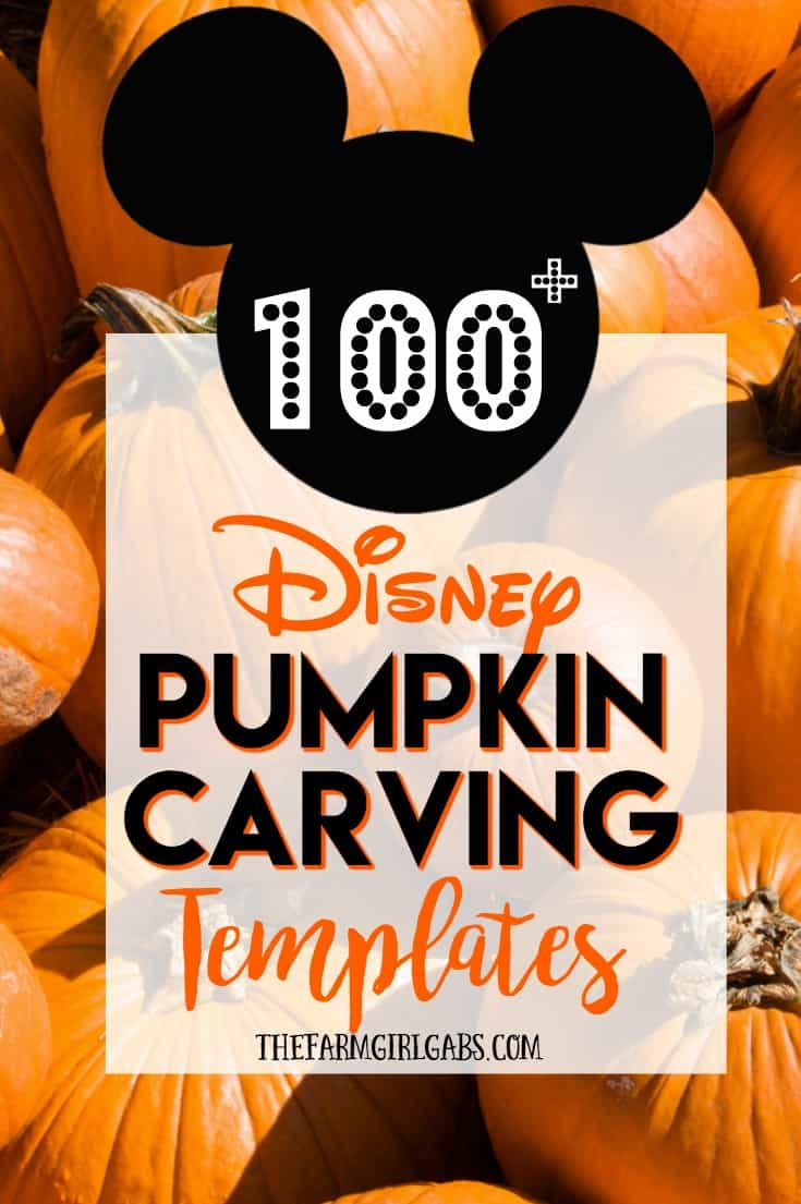 Disney pumpkin carving ideas disneyside Ideas for pumpkin carving templates