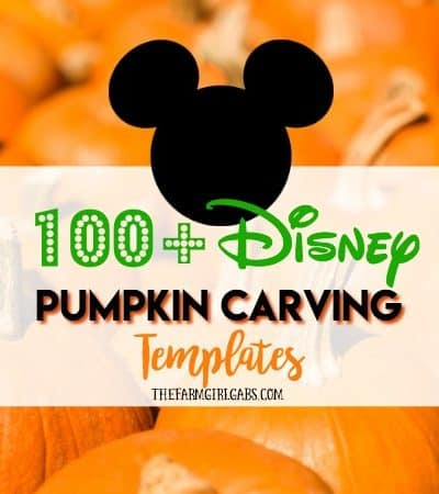 Carve up some Disney magic this Halloween with one or more of these 100+ Disney Pumpkin Carving Ideas.