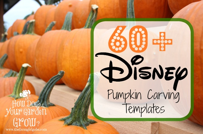 Disney Pumpkin Carving Ideas - #DisneySide