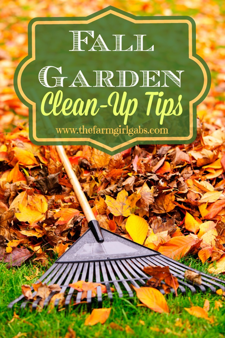 Tips and Trick on how to Prep your gardens for winter with these 10 Fall Garden Clean-Up Tips.