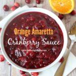 Orange Amaretto Cranberry Sauce