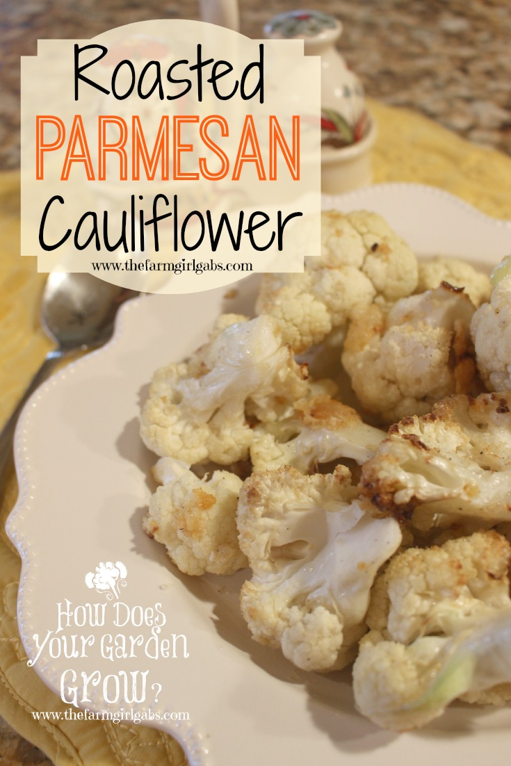Roasted Parmesan Cauliflower is a quick and easy recipe perfect for a weeknight family meal or Thanksgiving Dinner.