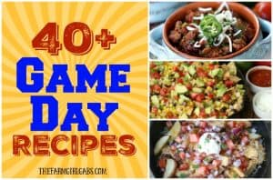 40+ Great Game Day Bites