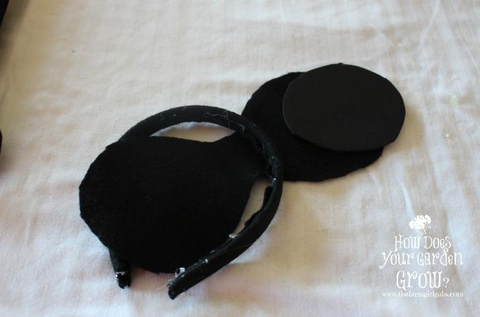 Assembled Minnie Ears