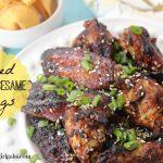 Baked Honey Sesame Wings