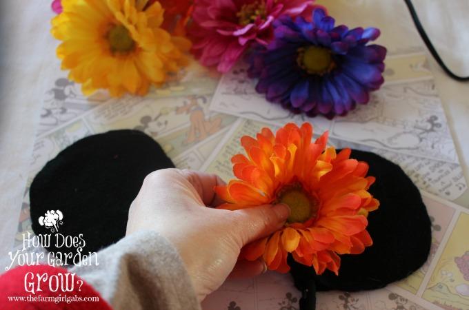 Minnie Ears - Flowers