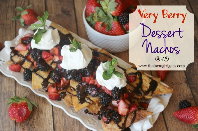Very Berry Dessert Nachos - Feature 1