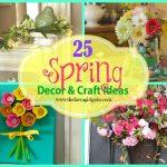 25 Spring Decor and Craft Ideas
