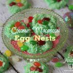 Coconut Macaroon Egg Nests