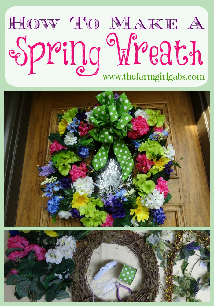 This easy DIY tutorial will show you how to make an beautiful Spring Grapevine Wreath for your front door. Welcome Spring!