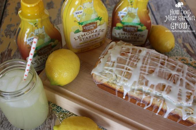 Glazed Lemon Poppy Seed Bread - Feature 1