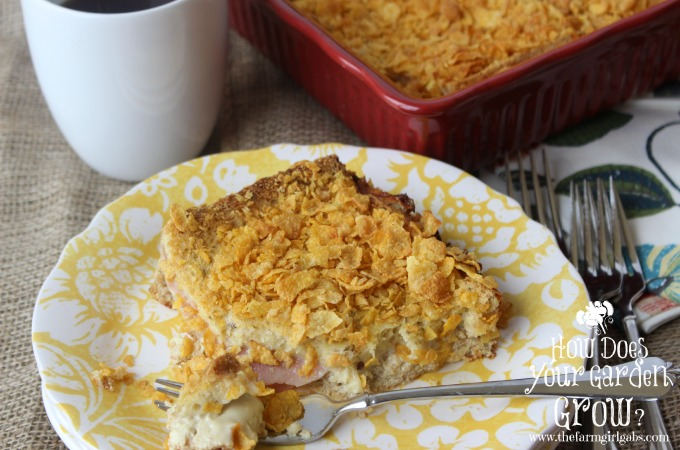Monte Cristo Sandwich Bake - The Farm Girl Gabs®