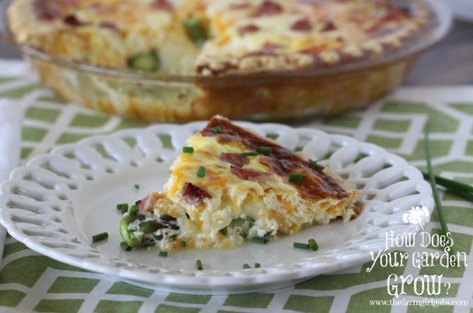 Asparagus & Ham Quiche - Feature 1