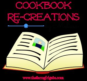 Cookbook Re-creations 4