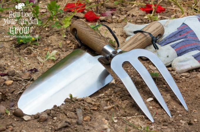 10 gardening tips for beginners the farm girl gabs for Gardening tools beginners