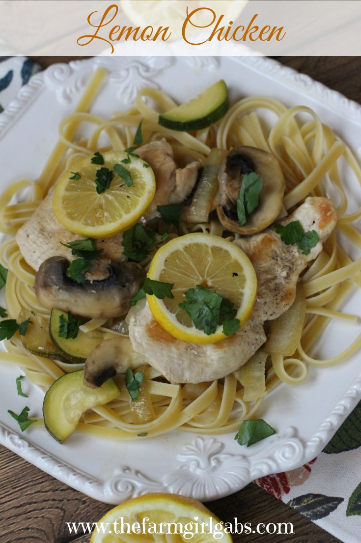 This Lemon Chicken recipe is a simple yet elegant meal your family will love!