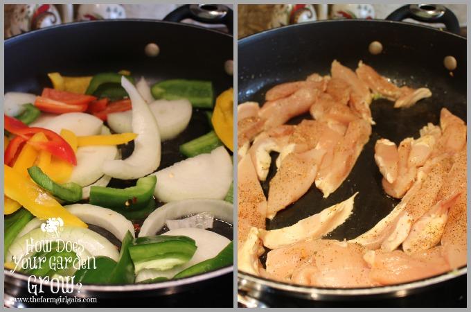 Quesadillas - Chicken & Veg