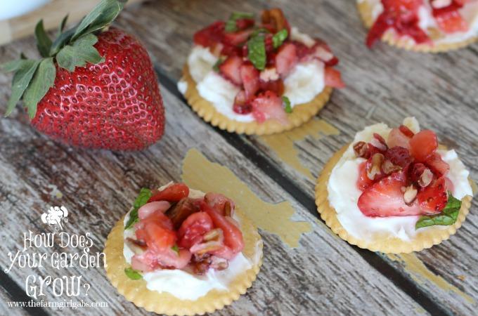 RITZ® Strawberry Bruschetta Bites - Feature 3