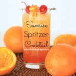 Sunrise Spritzer Cocktail