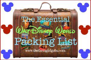 The Essential Walt Disney World Packing List!