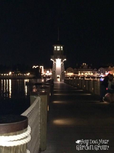 Disney's Beach Club - Night