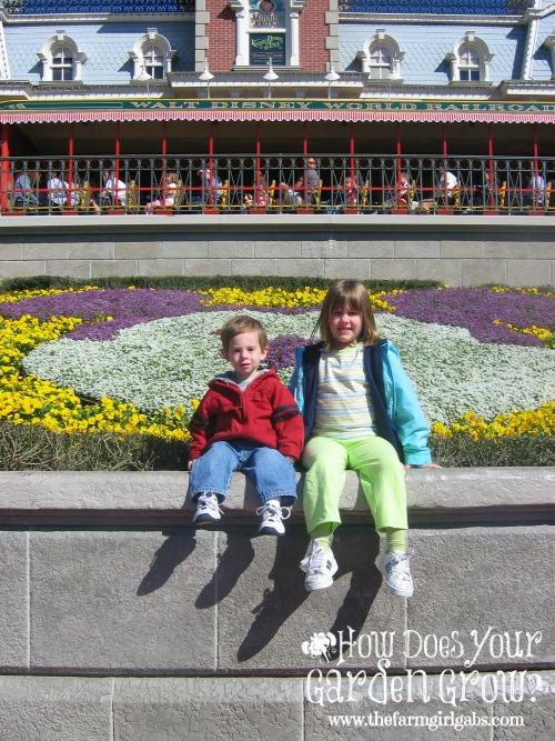 AJ's first visit to Walt Disney World - March 2004