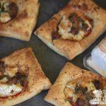 Sausage Tomato Goat Cheese Tarts