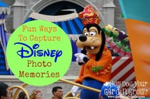 Fun Ways To Capture Disney Photos