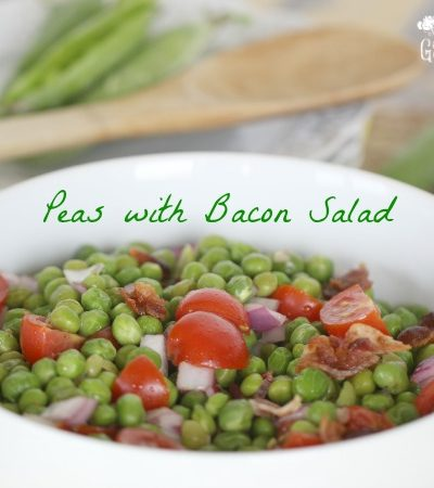 Peas With Bacon Salad
