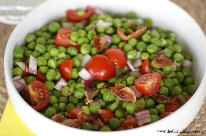 Peas with Bacon Salad - Feature 3