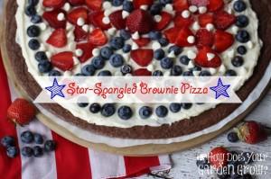 Star-Spangled Brownie Pizza Plus 50 Patriotic Desserts