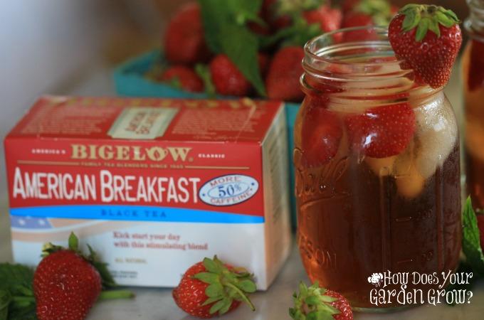 Strawberry Mint Sweet Tea - Feature 1