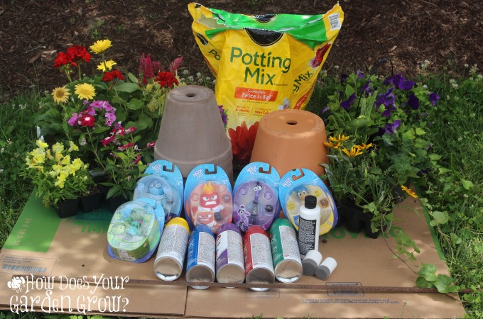 Topsy Turvy Emotion Garden Supplies