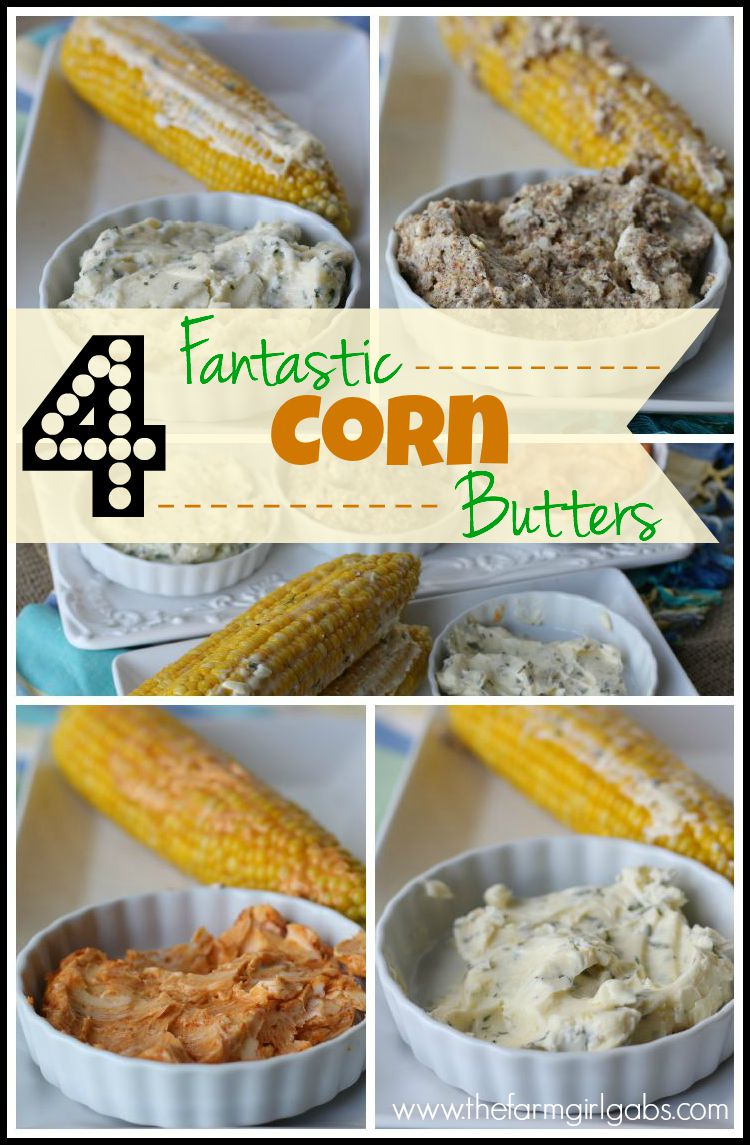 Seasoned Corn Butter is the perfect way to jazz up an ordinary ear of corn. Here are four corn butter recipes that are perfect for that wonderful summer vegetable.