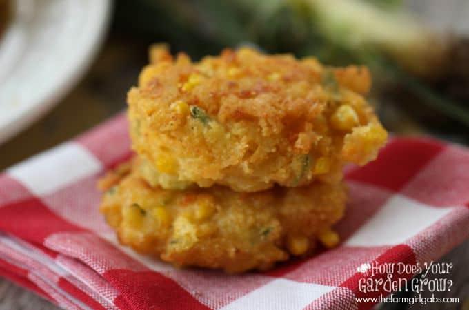 Corn Zucchini Fritters - Feature 3