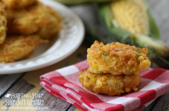 Corn Zucchini Fritters - Feature 4
