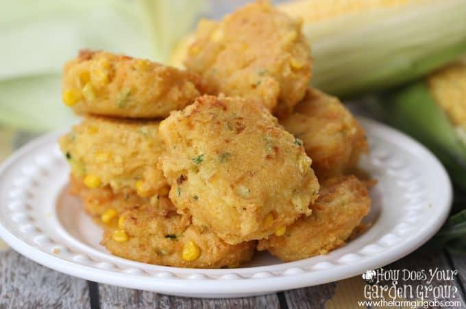 Corn Zucchini Fritters - Feature
