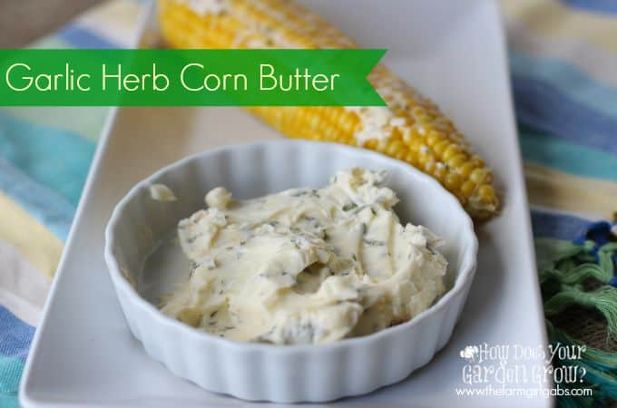 Garlic Herb Corn Butter