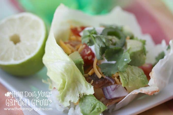 Mexican Lettuce Wraps - Feature 2