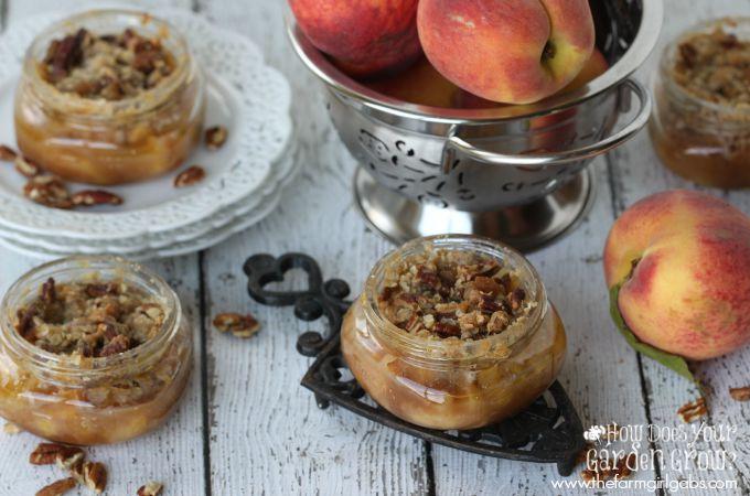 Peach Bourbon Crisps - Feature 3