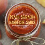 Peach Sriracha Barbecue Sauce