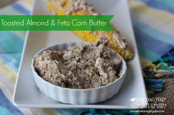 Toasted Almond & Feta Corn Butter