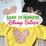Create Your Own Disney Shirt