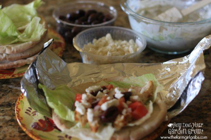 Grilled Chicken Gyros - Step