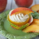 Peaches & Cream Cupcakes