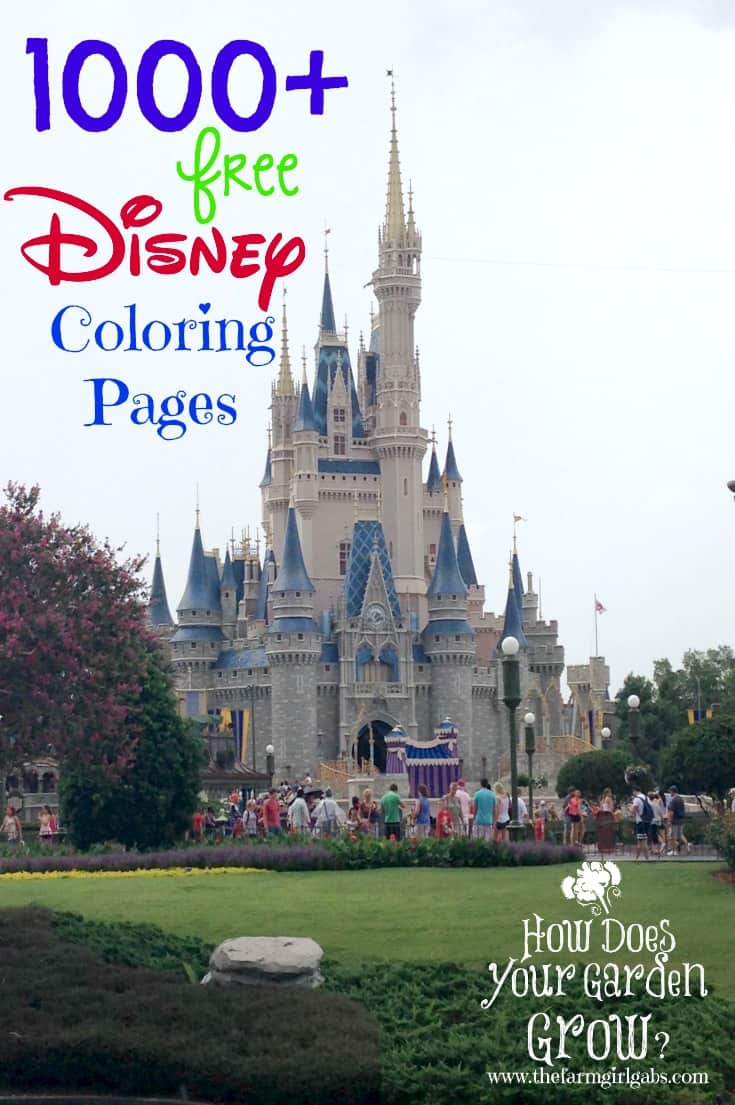 1000+ Free Disney Coloring Pages.
