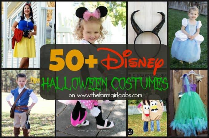 50+ Disney Halloween Costume Ideas